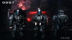 Mega Construx Halo: The Rookie (I P R I M E I) Tags: megaconstrux megabloks halo halo3 odst rookie prepare drop marine unsc custom moc
