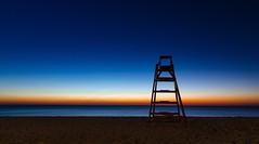 Eternidad (franlaserna) Tags: photo photography sky sand nightphotography nikon night sit beach sunrise