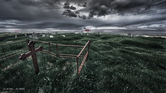 Scary (Dani Maier) Tags: iceland church graveyard grave