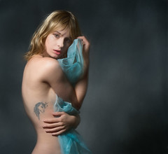 A picture is poem without words  -horace- (Lorrainemorris) Tags: soft elegance pippadoll portrait model unicorn tattoo batis sony sony7rm2 fineart studio painterly painting light expression artisticphotography mood feeling art