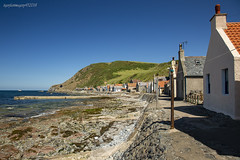 Crovie (Ross Forsyth - tigerfastimagery) Tags: scotland village fishingvillage crovie aberdeenshire moraycoast sea houses cottages landscape