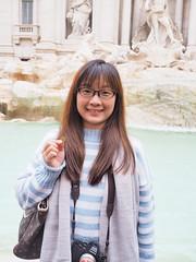 許願   特萊維噴泉 Fontana di Trevi   Roma, Italy (sonic010739) Tags: olympus omd em5markii olympusmzdigital1240mm roma italy