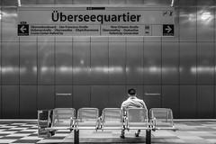 Überseequartier (Heinz Wille) Tags: hamburg ubahn subway station überseequartier leicacl elmarittl12818asph leica shootthestreet street unterwegsimnorden daswesentliche insiderfotowalk