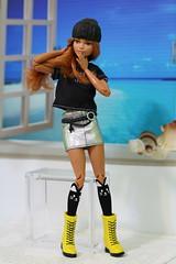 Lovin Leopard/Girl Power Fashionista (Annette29aag) Tags: barbie doll fashionista redressed fashion portrait pose toy