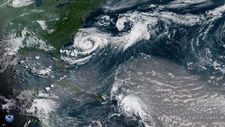 Tropical Storm Chris, Beryl's Remnants, and More Saharan Dust over the Atlantic