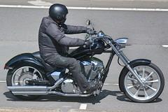 Victory? (Charles Dawson) Tags: m4 motorcycle