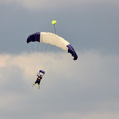 Can You Ride Tandem (MedievalRocker) Tags: parachuting headcorn tandem