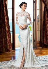Wedding Dresses  : Strapless lace slip wedding dress | Kittychen | trib.al/AL3PItr (ADL Magazine USA) Tags: