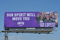 Grand Canyon University billboard - Santan Freeway Loop 202, Chandler, AZ (azbillboard) Tags: grandcanyonuniversity gcu education degree college university students lopes career billboard billboards advertising az arizona ahwatukee bulletin chandler freeway gilbert azbillboard i10 101 202 maricopa scottsdale tempe mesa phoenix ooh kyrene mcclintock impressions 85226 85224 85225 85286 85284 85283 85044 85048 85042 road city car auto traffic sign display ad advertisement advertise santan media geopath oaaa christian jesus christ god faith santanfreeway loop202 pricefreeway loop101 gilariverindiancommunity onsiteinsite outdooradvertising outofhome