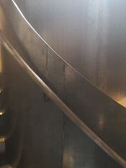 2018-06-FL-191918 (acme london) Tags: blackenedsteel bondstreet botique concrete curvedhandrail curvedsteel handrail interiordesign london rawsteel retail shop spiralstair steelspiral steelsteps stellamccarney weldedsteel