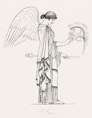 Iris from An illustration of the Egyptian, Grecian and Roman costumes by Thomas Baxter (1782-1821).Digitally enhanced by rawpixel. (Free Public Domain Illustrations by rawpixel) Tags: illustration psd publicdomain vector otherkeywords afterlife anillustrationoftheegyptian ancient ancientgreek angel animal antique art artistic baxter belief brave cc0 drawing empire gods grecian grecianandromancostumes greek headwear helmet historic historical history holding iris muscle mythology old oldtime romans safety sketch standing thomasbaxter vintage wand wings woman worship
