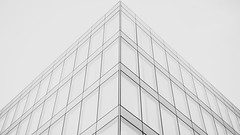 Symmetric Lines (Zsirka Richárd) Tags: fujifilm xf35 xt1 architecture symmetry lines monochrome blackandwhite building budapest hungary lookup outdoor urban streetphotography composition triangle widescreen 169 4k uhd
