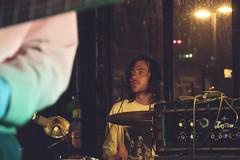 IMG_8981 (stephanie andreana) Tags: ought oughtband oughtmusic music band show concert brooklyn bk markethotel venue bushwick play fun experiment diy create inspire noflash digital drums keys bass sing mic