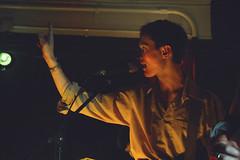 IMG_9225 (stephanie andreana) Tags: ought oughtband oughtmusic music band show concert brooklyn bk markethotel venue bushwick play fun experiment diy create inspire noflash digital drums keys bass sing mic