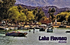 Postkarte vom Lake Havasu, Arizona (USA) (LOMO56) Tags: lakehavasu arizona lakehavasucity usa postkarten historischepostkarten ansichtskarten