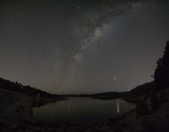 Mars & Milky Way (Steve Paxton WA) Tags: reflections water star milkyway rocks nightsky nightphotos panorama longexposure