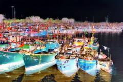 India - Gujarat - Veraval - Fishing Harbour - 2bb (asienman) Tags: india gujarat veraval fishingharbour asienmanphotography asienmanphotoart asienmanpaintography