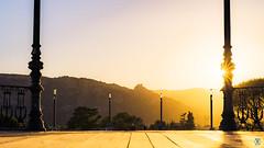 Valence Sunset - HDR (Nik2o) Tags: d7500 nikon sigma 50mm art sun sunset twilight soleil ville ciel city sky gold time valence auvergnerhônealpes france fr view outdoor outdoors manfrotto crépuscule clouds créer crepúsculo orange kiosque arbre tree nik2o drome drome26 valence26 26