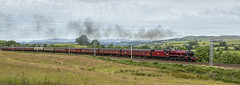 The Cumbrian Mountain Express 23-6-2018 (KS Railway Gallery) Tags: cumbrian mountain express uk steam jubilee galatea railway meal bank