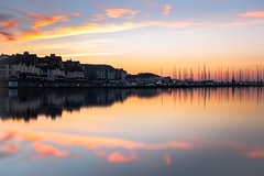 Coast (Carl OBeirne) Tags: coast marina water reflection sea dusk evening sunset boats longexposure coulourful clear summer