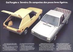 Gol Furgon and Saveiro (Hugo-90) Tags: vw volkswagen commercial truck pickup ads advertising brochure car auto automobile furgao furgon saveiro fox