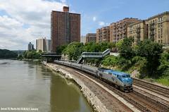 Amtrak 712 / 26.06.18 (Schumny) Tags: train new york city bronx marblehill amtrak us usa united states america trainspotter trainspotting