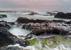 Yachats, Oregon (dcjohnson50) Tags: yachats oregon oregoncoast longexposure leefilters littlestopper bigstopper canon canon5dmarkiii markiii 5d canon2470 oceancloudsskiesbeautiful pacificocean naturalbeauty seascape sunset