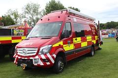 NK17 BKF (Ben Hopson) Tags: cleveland fire brigade water rescue services mercedes benz sprinter unit van flood response preston park engine rally 2018 2017 stockton thornaby station nk17 bkf nk17bkf
