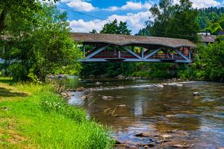 Murg river walking bridge