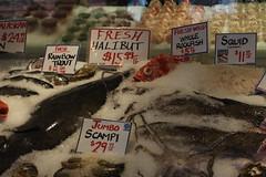 Pike Place Market (joseph a) Tags: sign pikeplacemarket seattle washington washingtonstate fish seafoodmarket fishmarket