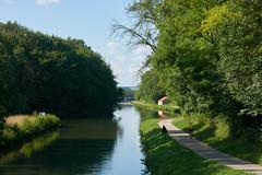 Le paradis du cycliste (Géraud de St G) Tags: bourgogne yonne 89 canal prégilbert