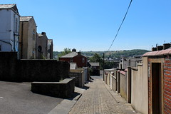 Back Alley off Eccles Street, Accrington (Walruscharmer) Tags: cobbles backyards alleyway ecclesstreet yorkstreet accrington lancashire