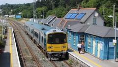 Irish Rail 2801/02 in Glounthaune Station. (Fred Dean Jnr) Tags: irishrail iarnrodeireann cork 2801 2802 july2018 glounthaunestationcork glounthaune railcar