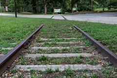 Mill Street abandoned rail spur to mill - 1 (MarksPhotoTravels) Tags: greenvillecounty southcarolina taylors unitedstates