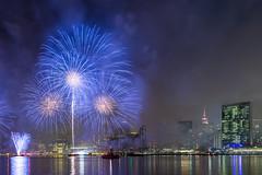 The 4th in NYC (Elyssa Drivas) Tags: 4thofjuly july4th newyork newyorkcity nyc night nightphotography celebrate fireworks fireworksshow midtown gantryplazastatepark queens manhattan skyline skyscraper eastriver eastside