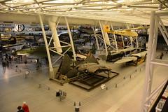 NASM_0143 German WWII aviation (kurtsj00) Tags: nationalairandspacemuseum nasm smithsonian udvarhazy horten ho 229 v3 jet flying wing