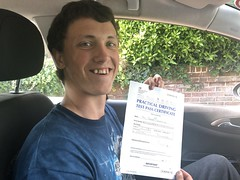 Massive congratulations to Tomas Lakavicius passing his driving test with only 3 minor faults on his first attempt!  www.leosdrivingschool.com