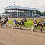 Harness racing at county fair thumbnail