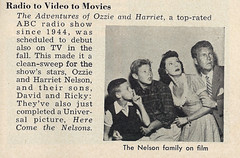Ozzie & Harriet Nelson with Sons Ricky & David, 1950 (classic_film) Tags: 1950s fifties 1952 magazine retro revista época ephemeral clásico classic vintage old oll alt añejo tv nelsonfamily television ozzienelson harrietnelson davidnelson rickynelson celebrity celebrities radio entertainment film movie movies films woman man mujerbonita mujer actrice actress actriz actor acteur aktrice akteur aktor schön schauspielerin hollywood frau hübschesmädchen hübschefrau family mother father boy child children husband wife son