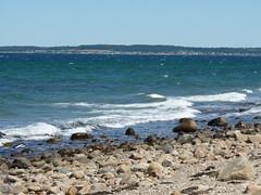 Coast between Gilleleje and Helsingør North Zealand DK (achatphoenix) Tags: coast gilleleje helsingør north zealand dk northzealand seeland nordseeland øresund öresund thesound juni scania sweden schweden water wasser eau aqua