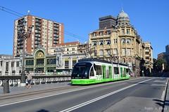 Tranvía de Bilbao (Pabloh269) Tags: bilbao euskotren tranvía tran tram españa feve concordia