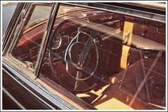 at the helm (BKFofOF) Tags: nikon d610 2485 nikkor fx mercedes benz daimler oldtimer cardetail steeringwheel