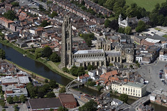 St Botolph's Church next to the River Witham in Boston - Lincolnshire (John D Fielding) Tags: boston lincolnshire riverwitham church above aerial nikon d810 hires highresolution hirez highdefinition hidef britainfromtheair britainfromabove skyview aerialimage aerialphotography aerialimagesuk aerialview drone viewfromplane aerialengland britain johnfieldingaerialimages fullformat johnfieldingaerialimage johnfielding
