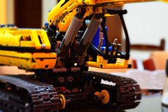 Lego Technic Motorized Excavator (Josth91) Tags: lego technic motorized excavator toy piezas juguetes excavadora