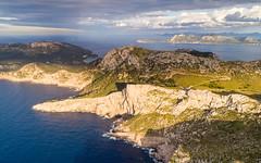Golden (JoshyWindsor) Tags: capeformentorsunset coastline spain sunset agnitravel balearicislands mallorca drone landscape aerial europe phantom4pro travel