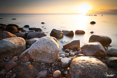 Morgenlicht! (florianpluecker) Tags: langzeitbelichtung long time exposure morgenlicht dawn morning light insel ruegen deutschland island germany kiesstrand