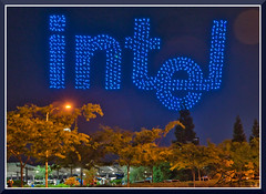 IntelDroneShow_1157 (bjarne.winkler) Tags: thanks intel for 50 years technology congratulation with 2018 drones guinness world record that you set this evening folsom