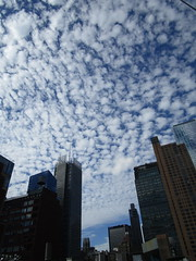 IMG_5829 (Brechtbug) Tags: 2018 july morning clouds virtual clock tower turned off from hells kitchen clinton near times square broadway nyc 07212018 new york city midtown manhattan spring springtime weather building dark low hanging cumulonimbus cumulus nimbus cloud hell s nemo southern view ny1