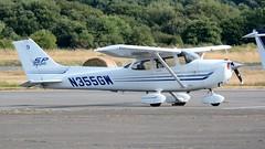 N355GW (goweravig) Tags: n355gw cessna visiting aircraft skyhawk 172 swanseaairport swansea wales uk