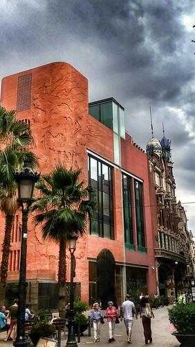 "Barcelona. Palau de la Música. • <a style=""font-size:0.8em;"" href=""http://www.flickr.com/photos/26679841@N00/43528820742/"" target=""_blank"">View on Flickr</a>"